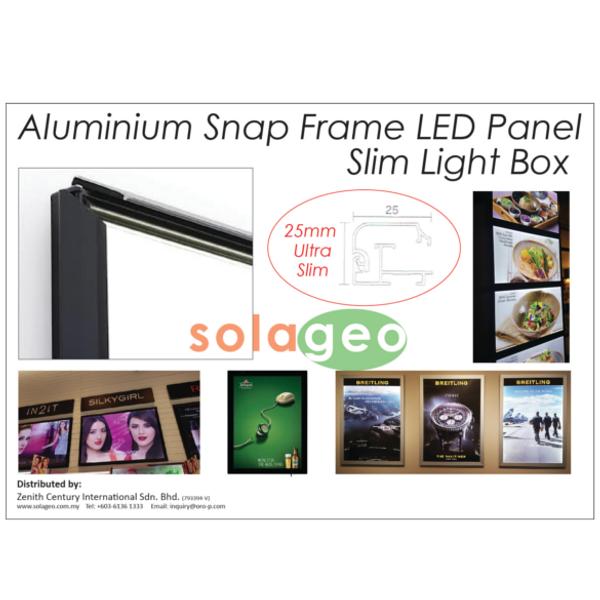 Aluminium Snap Frame Lightbox 2