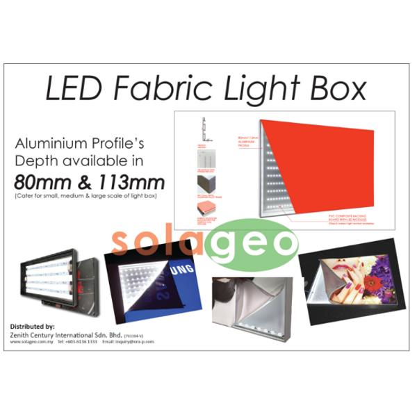 LED Fabric Lightbox 2